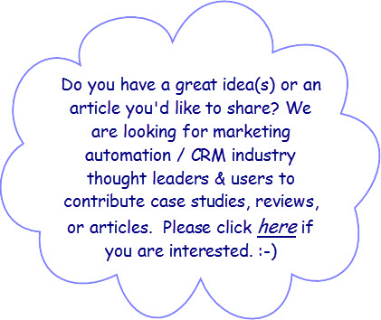 Marketing Automation - Contact Us